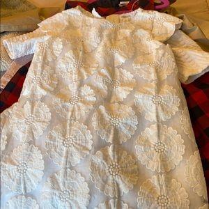 White dress Gymboree